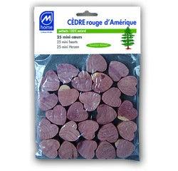 Achat en ligne Sachet de 25 mini-cœurs antimites