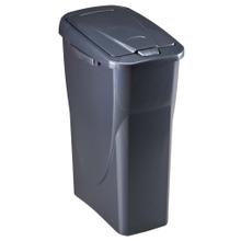 Achat en ligne Poubelle touch rectangulaire en plastique noir Ecolunga 40L