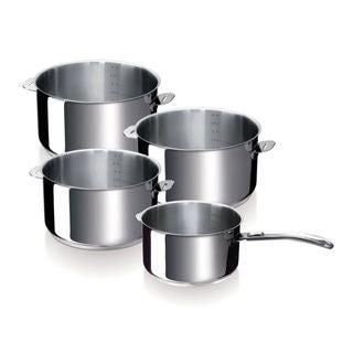 BEKA - Set de 4 casseroles avec manche amovible Evolution 14, 16, 18 et 20cm