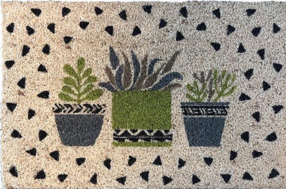 Achat en ligne Paillasson Coco imprimé 40x60 cm Cactus