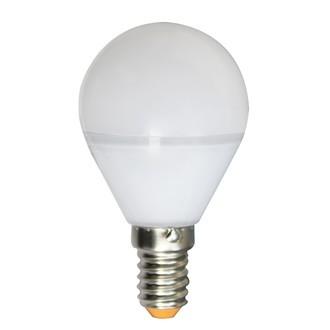 Ampoule sphérique à led 5w e14 - diam 45mm