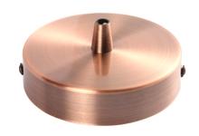 Achat en ligne Plafonnier en acier cuivré