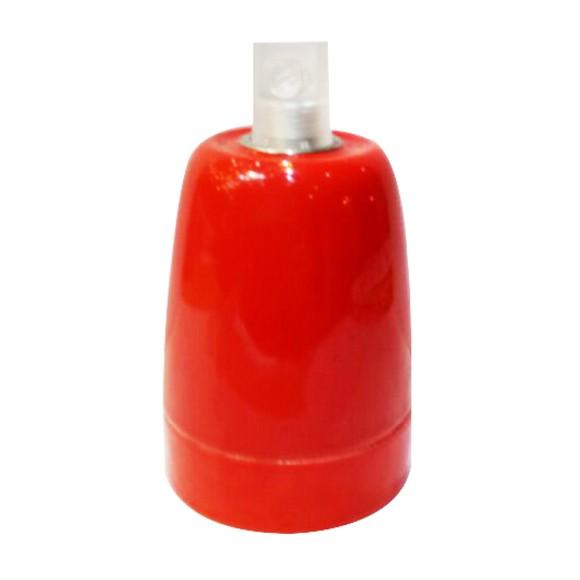 Douille en céramique rouge