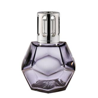 LAMPE BERGER - Coffret lampe géométrique réglisse + parf caresse coton 180ml