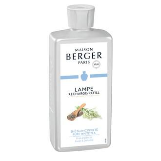 LAMPE BERGER - Parfum 500ml thé blanc pureté