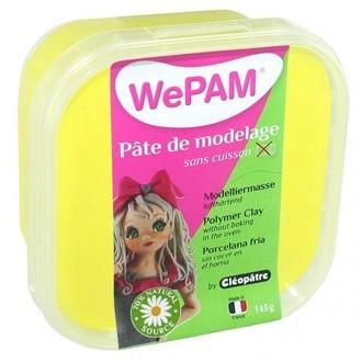 Porcelaine à modeler jaune wepam en pot 145 g