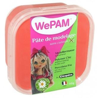 Porcelaine à modeler rouge wepam en pot 145 g
