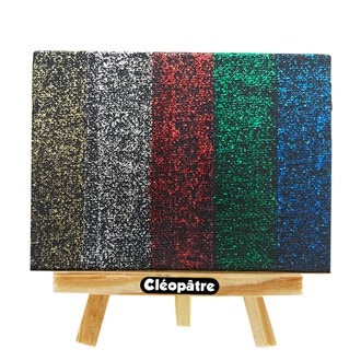 CLEOPATRE - Gel pailletté rouge 250ml