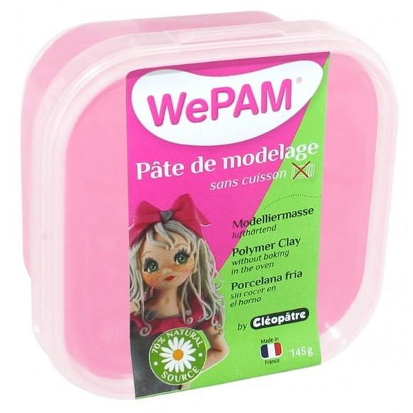 Porcelaine à modeler rose dragée WePam en pot 145 g
