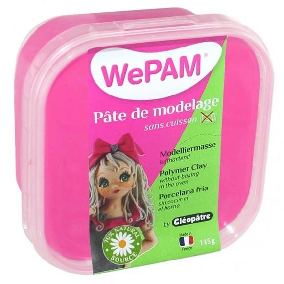 Porcelaine à modeler fuschia WePam en pot 145 g