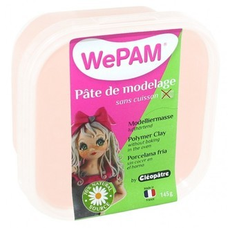 CLEOPATRE - Porcelaine à modeler chair WePam en pot 145 g