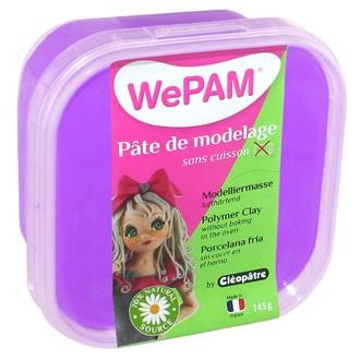 Porcelaine à modeler violet wepam en pot 145 g