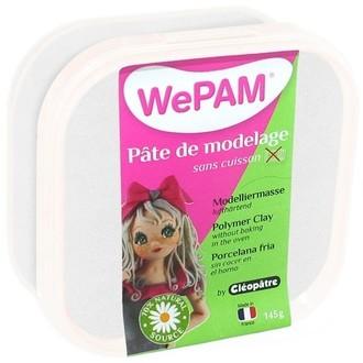 Porcelaine à modeler blanc nacré wepam en pot 145 g