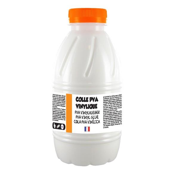 Colle vinylique en bouteille 500g