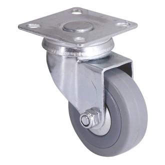 Roulette novoplex à platine pivotante 5cm charge 40kg
