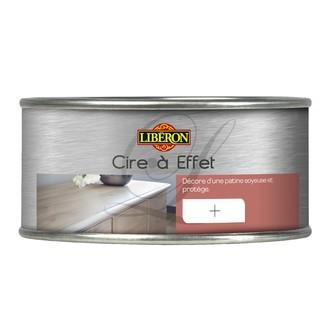 LIBERON - Cire pour meubles à effet acier en pot 0,25l