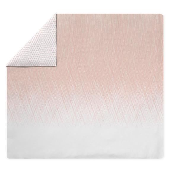 Copripiumino piazza e mezza in cotone percalle a fantasia rosa