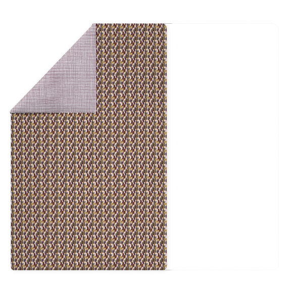Copripiumino singolo in cotone percalle multicolor