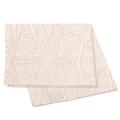 Tovaglia rettangolare in cotone fiammato, 150x250 cm