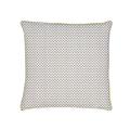 Federa con profilo in tela di cotone 63x63cm