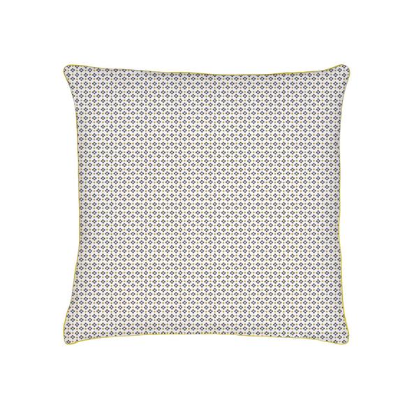 acquista online  Federa con profilo in tela di cotone 63x63cm