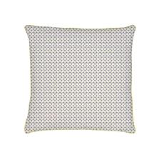 Achat en ligne Taie d'oreiller avec passepoil en toile coton Clea cendre 63x63cm