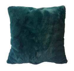 Achat en ligne Coussin en fausse fourrure vert malachite Olga 40x40cm