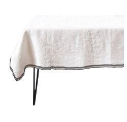 Achat en ligne Nappe 150x150cm en coton rose pâle Pure