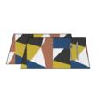 Set di tovagliette americane cotone 140 g, 33x48 cm