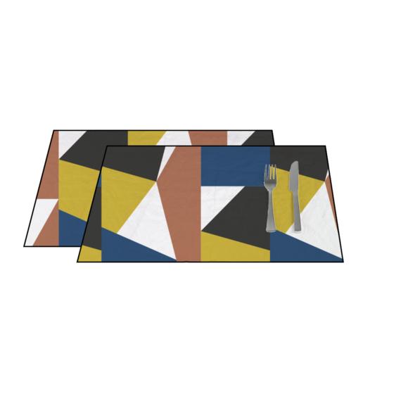 acquista online Set di tovagliette americane cotone 140 g, 33x48 cm