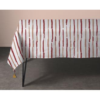 Nappe en coton 140g souston 150x250 cm