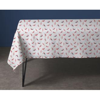 Nappe en coton 140g Pimientino 150x150 cm