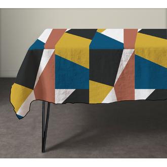 Nappe en coton 140g abstract 150x250 cm