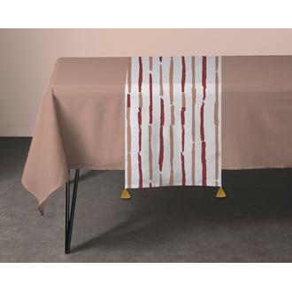 Chemin de table en coton 140g souston 50x150 cm