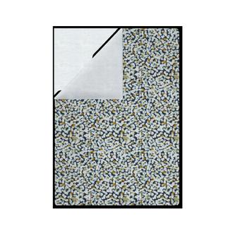 Housse de couette 140x200cm en percale fusion bleu encre