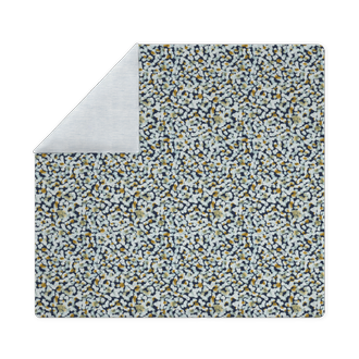 Housse de couette 200x200cm en percale fusion bleu encre