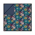 Copriumino piazza e mezza cotone percalle a floreale