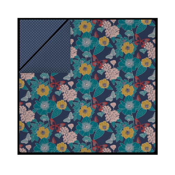 acquista online Copriumino piazza e mezza cotone percalle a floreale