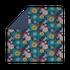 Housse de couette 200x200cm en percale Christen bleu encre