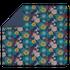 Housse de couette 240x220cm en percale Christen bleu encre