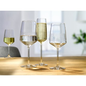 Pack de 2 verres à pied saint amour novastyl 52 cl