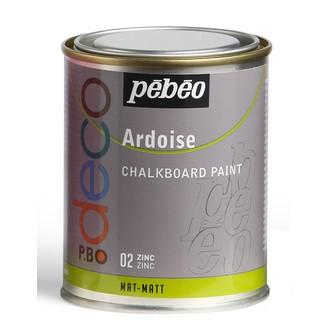 PEBEO - Peinture ardoise zinc en pot 250 ml