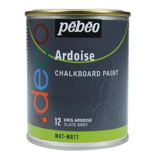 PEBEO - Peinture ardoise gris ardoise en pot 250 ml