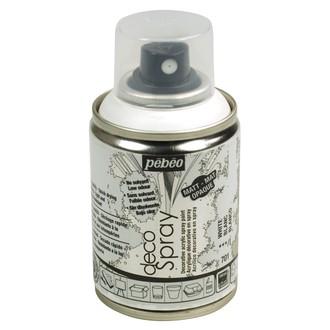 PEBEO - Peinture de décoration blanc en spray 100 ml