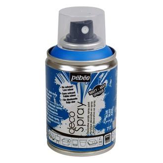 PEBEO - Peinture de décoration bleu en spray 100 ml