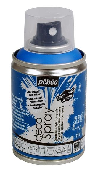 Achat en ligne Peinture de décoration bleu en spray 100 ml