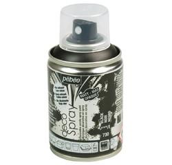 Achat en ligne Peinture de décoration noir en spray 100 ml