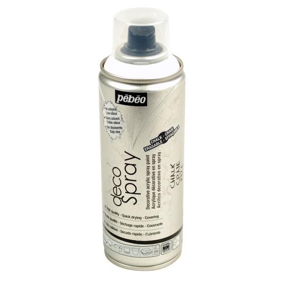 Peinture de décoration effet craie en spray 200 ml
