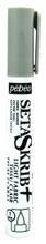 Achat en ligne Feutre Setaskrib pour tissus clairs gris avec pointe de 1mm