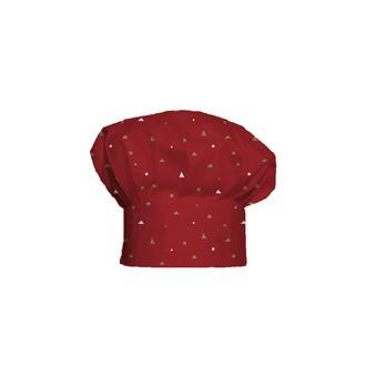 Toque de cuisine pour enfant Petit Chef rouge